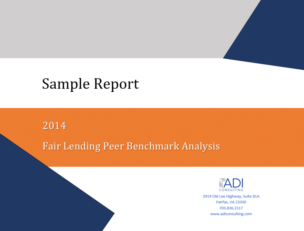 Fair Lending Peer Benchmark Analysis
