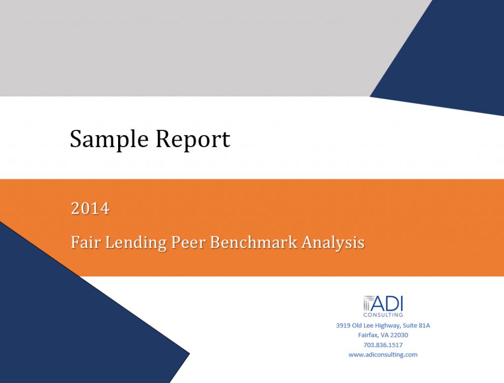 Fair Lending Peer Benchmark Analysis